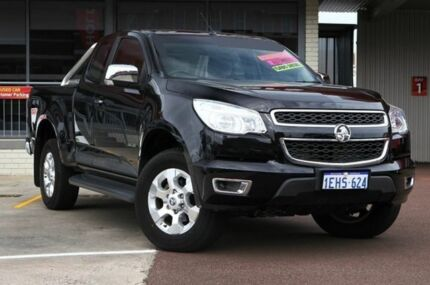2013 Holden Colorado RG MY13 LTZ Space Cab Carbon Flash Black 6 Speed Auto Seq Sportshift Utility Northbridge Perth City Preview