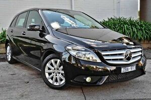 2012 Mercedes-Benz B180  Black Sports Automatic Dual Clutch Hatchback Burwood Whitehorse Area Preview