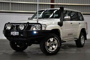 2012 Nissan Patrol Y61 GU 8 ST White 5 Speed Manual Wagon Thornlie Gosnells Area Preview