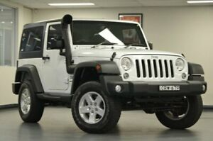 2015 Jeep Wrangler JK MY2015 Sport White Manual Softtop Chatswood Willoughby Area Preview