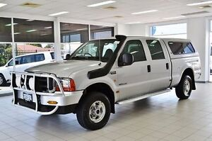 2005 Ford F250 RN XLT (4x4) Silver 4 Speed Automatic Crewcab Morley Bayswater Area Preview