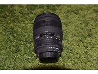 Nikon Fit Sigma 28-70 f2.8 EX Aspherical AF lens with hood and caps