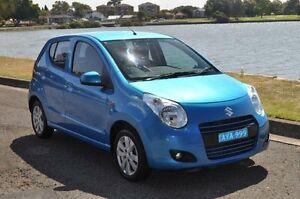 2010 Suzuki Alto GF GL Blue 4 Speed Automatic Hatchback Croydon Burwood Area Preview