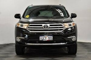 2012 Toyota Kluger GSU45R MY12 Grande AWD Black 5 Speed Sports Automatic Wagon Thornlie Gosnells Area Preview