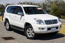 2004 Toyota Landcruiser Prado KZJ120R GXL White 4 Speed Automatic Wagon Mindarie Wanneroo Area Preview