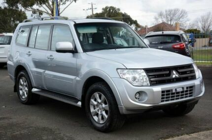 2013 Mitsubishi Pajero NW MY13 GLX-R Silver 5 Speed Auto Seq Sportshift Wagon Mornington Mornington Peninsula Preview