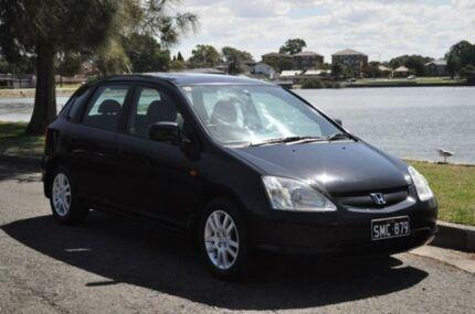 2003 Honda Civic 7TH GEN VI Black 4 Speed Automatic Hatchback