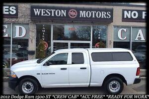 2012 Dodge Ram 1500 ST*CREW CAB*INTERIOR SHELVING*BUY HERE!!