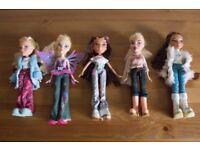 Bratz Bundle including 5 dolls