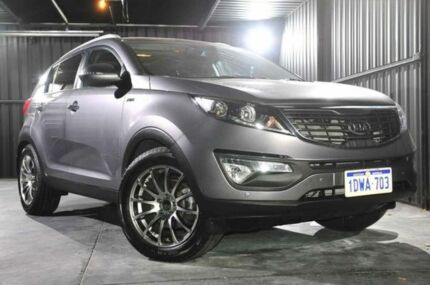 2012 Kia Sportage SL MY13 Platinum Silver 6 Speed Auto Seq Sportshift Wagon Wangara Wanneroo Area Preview