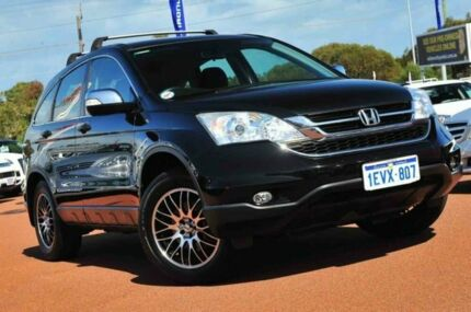 2010 Honda CR-V RE MY2010 4WD Black 6 Speed Manual Wagon Wangara Wanneroo Area Preview