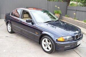 2001 BMW 320i E46 MY2001 Steptronic Blue 5 Speed Sports Automatic Sedan Brompton Charles Sturt Area Preview