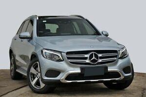 2015 Mercedes-Benz GLC-Class X253 GLC220 d 9G-Tronic 4MATIC Diamond Silver 9 Speed Sports Automatic