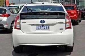 2013 Toyota Prius White Constant Variable Liftback Frankston Frankston Area Preview