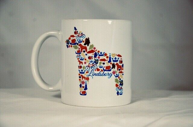 Lindsborg Kansas Wild Dala Horse Design Mug