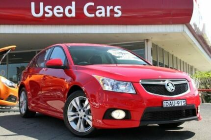 2014 Holden Cruze JH Series II MY14 SRI Red Hot 6 Speed Auto Seq Sportshift Hatchback Liverpool Liverpool Area Preview