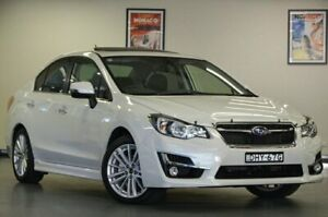 2016 Subaru Impreza G4 MY16 2.0I-S White Sedan Chatswood Willoughby Area Preview