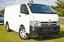 2011 Toyota Hiace TRH201R MY11 LWB White 4 Speed Automatic Van Upper Ferntree Gully Knox Area Preview