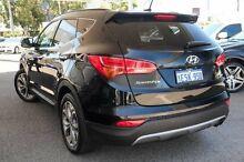 2015 Hyundai Santa Fe DM2 MY15 Highlander Black 6 Speed Sports Automatic Wagon Osborne Park Stirling Area Preview