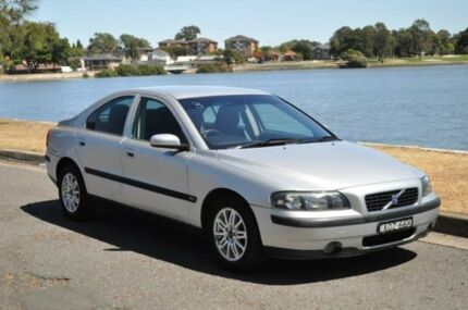 2003 Volvo S60 MY03 2.4 Silver 5 Speed Automatic Sedan