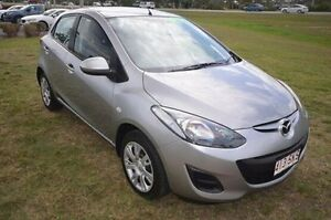 2012 Mazda 2 DE10Y2 MY12 Neo Silver 5 Speed Manual Hatchback Vincent Townsville City Preview