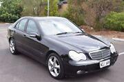 2003 Mercedes-Benz C180 Kompressor W203 MY2003 Classic Black 5 Speed Automatic Sedan Brompton Charles Sturt Area Preview