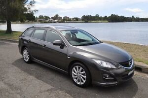 2012 Mazda 6 GH MY11 Touring Grey 5 Speed Auto Activematic Wagon Croydon Burwood Area Preview