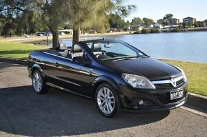 2007 Holden Astra TS MY06 Convertible Black 4 Speed Automatic Convertible Croydon Burwood Area Preview