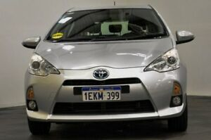 2012 Toyota Prius c NHP10R E-CVT Silver 1 Speed Constant Variable Hatchback Hybrid