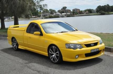 2005 Ford Falcon BA MkII XR6 Yellow 5 Speed Manual Utility