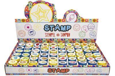 10 x Kinderstempel im Display Motivstempel Mitgebsel Kindergeburtstag Stempel