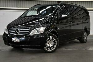 2012 Mercedes-Benz Viano 639 MY12 BlueEFFICIENCY Black 5 Speed Automatic Wagon Thornlie Gosnells Area Preview