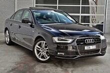 2015 Audi A4 B8 8K MY15 S Line S tronic quattro Black 7 Speed Sports Automatic Dual Clutch Sedan Berwick Casey Area Preview