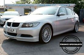 ALPINA D3 4 door saloon bi-turbo AA WARRANTIES AND FINANCE A (silver) 2008