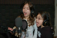 Host your own karaoke party at a pro recording studio