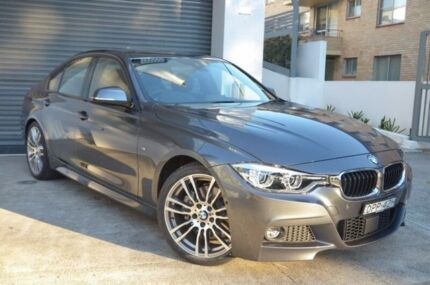 2017 BMW 330I Grey Sports Automatic Sedan St Leonards Willoughby Area Preview