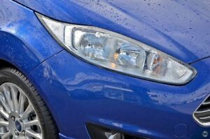 2014 Ford Fiesta WZ MY15 Sport Blue 5 Speed Manual Hatchback