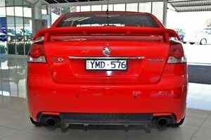 2011 Holden Commodore VE II SV6 Red 6 Speed Sports Automatic Sedan Dandenong Greater Dandenong Preview