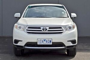 2012 Toyota Kluger White Sports Automatic Wagon Cranbourne Casey Area Preview