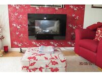 Swap beautiful Dimplex wall fire for cream fire surround with electric fire.