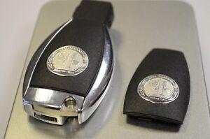 Genuine mercedes amg key fob remote case backing for Mercedes benz amg key fob back cover