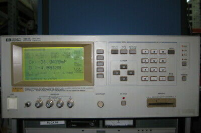 Hpagilent 4284a Precision Lcr Meter With Opt 001 20hz-1mhz