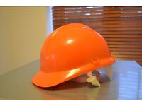 Orange Centurion Safety Helmets x 5