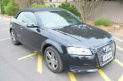 2010 Audi A3 8P MY10 TFSI S tronic Attraction Grey 7 Speed Sports Automatic Dual Clutch Convertible Renown Park Charles Sturt Area Preview