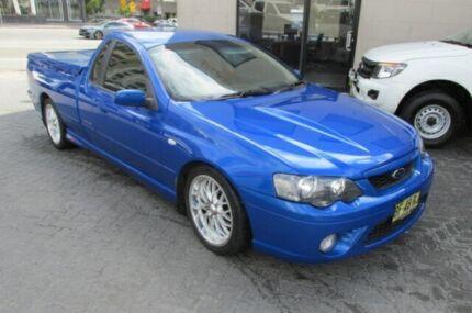 2006 Ford Falcon BF XR8 Magnet Blue 6 Speed Auto Seq Sportshift Utility