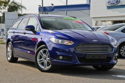 2015 Ford Mondeo MD Ambiente PwrShift Deep Impact Blue 6 Speed Sports Automatic Dual Clutch Wagon Melville Melville Area Preview