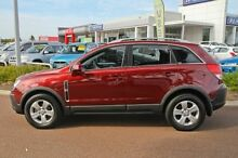 2010 Holden Captiva CG MY10 5 AWD Maroon 5 Speed Sports Automatic Wagon East Rockingham Rockingham Area Preview