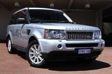 2008 Land Rover Range Rover Sport L320 08MY TDV6 Silver 6 Speed Sports Automatic Wagon Northbridge Perth City Preview
