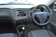2009 Kia Rio JB LX Black 5 Speed Manual Hatchback Five Dock Canada Bay Area Preview