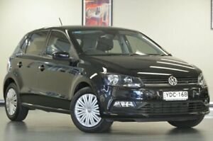 2015 Volkswagen Polo 6R MY15 66TSI Trendline Black Semi Auto Hatchback Chatswood Willoughby Area Preview